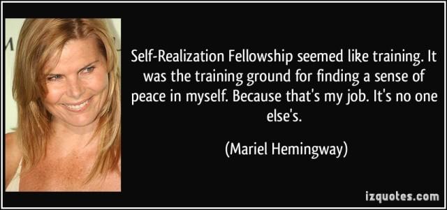 SRF quote-mariel-hemingway-82907