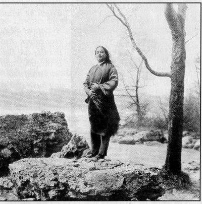 Paramahansa Yogananda at Niagara Falls NY